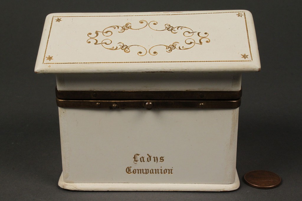 "Lot 546: ""Lady's Companion"" & French Perles sewing kit"