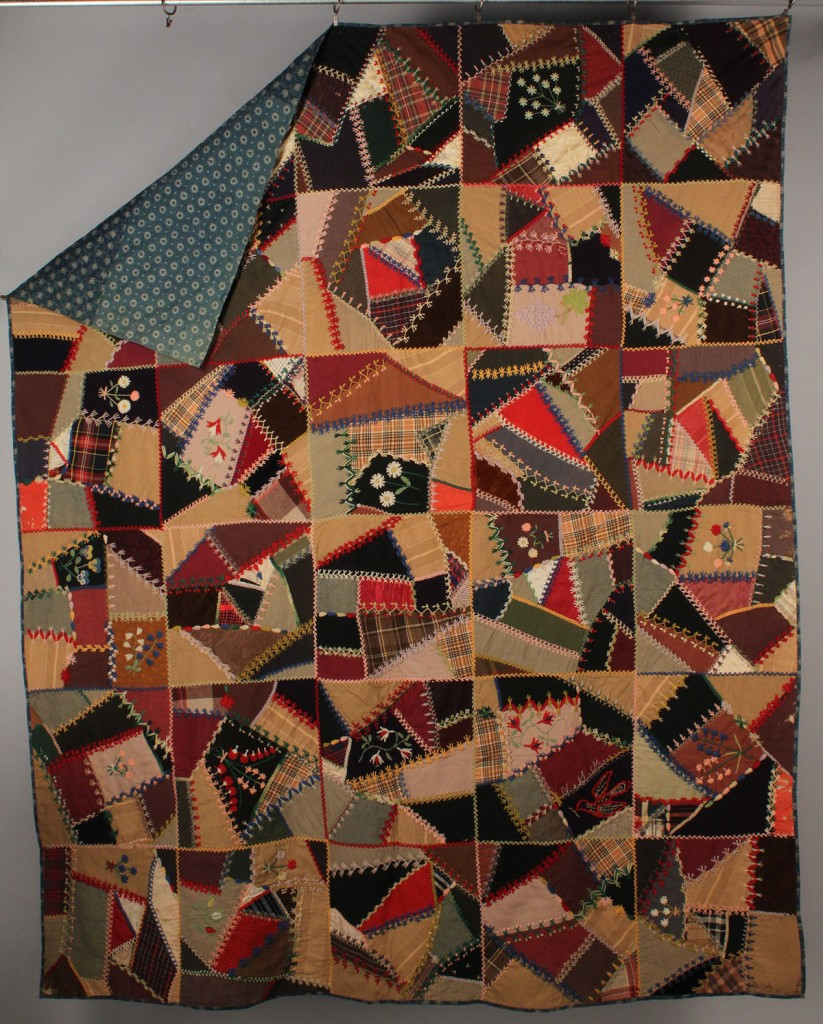 Lot 558: East TN Crazy Quilt
