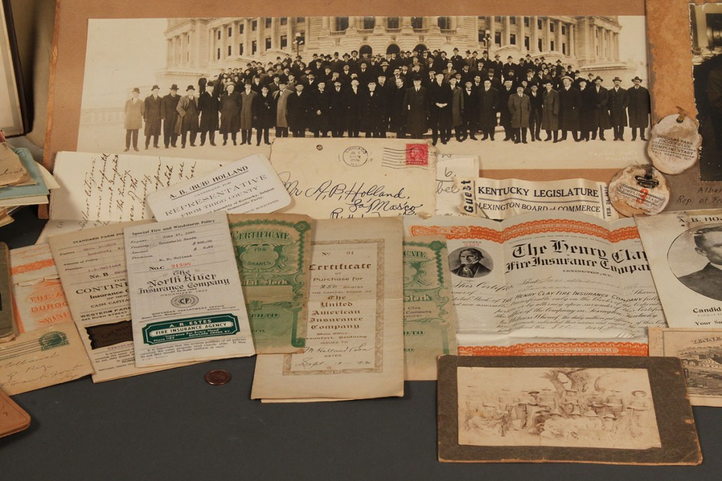 Lot 581: Kentucky Representative A.B. Holland archive