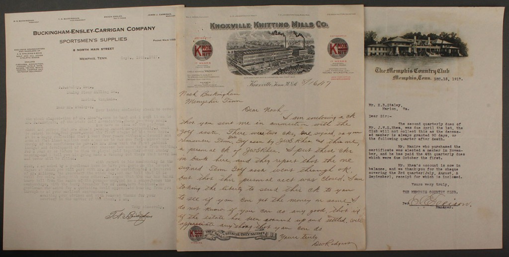 Lot 588: T. Nash Buckingham Archive