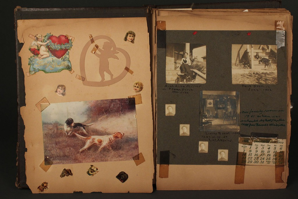 Lot 590: Late 19th Century Memory Book
