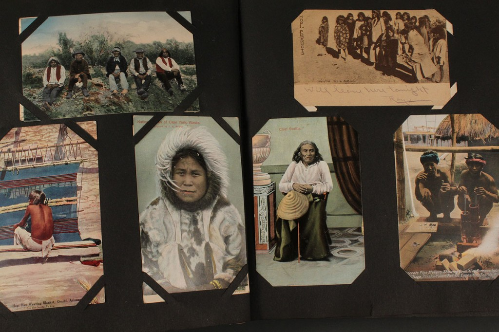 Lot 591: Scrapbook & Postcard Collection, Pacific NW