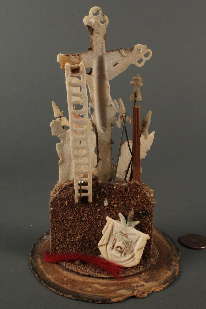 Lot 594: Folk Art Religious Sugar Sculpture