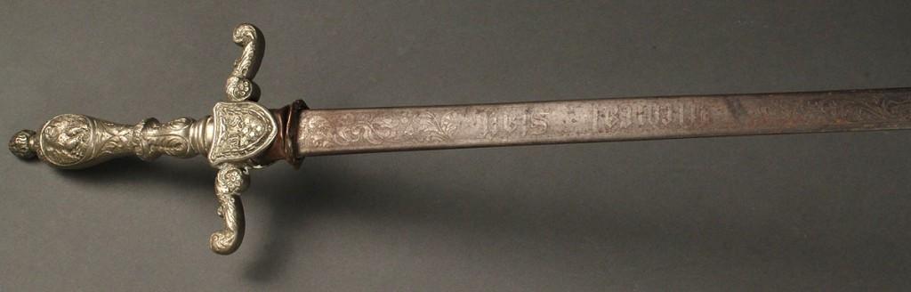 Lot 60: Union Medical Staff Sword