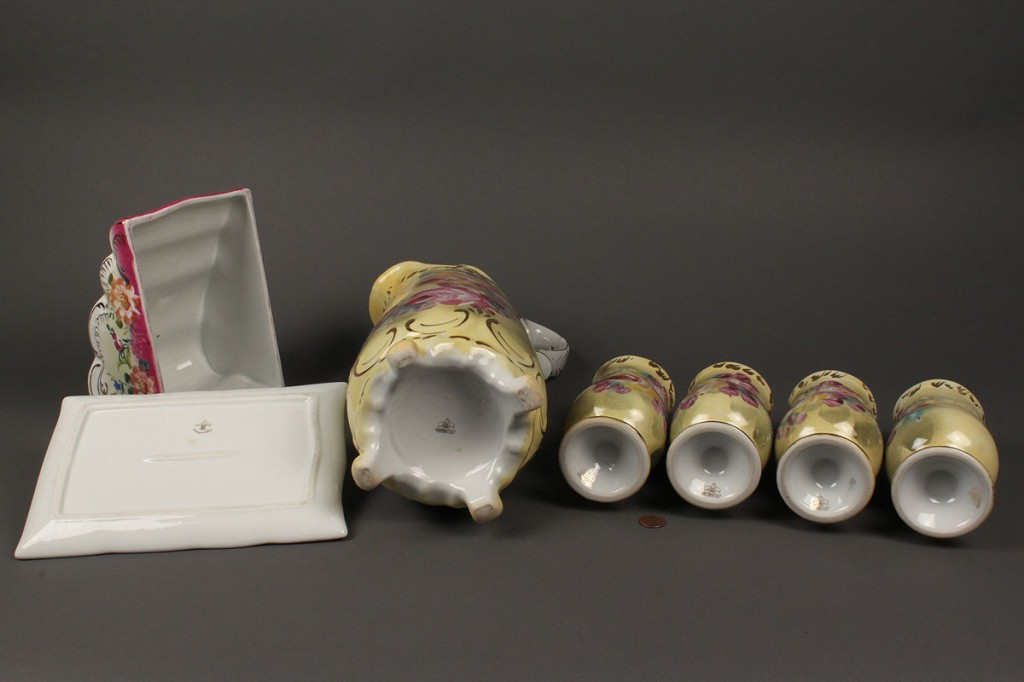 Lot 611: Porcelain withdrawn lot