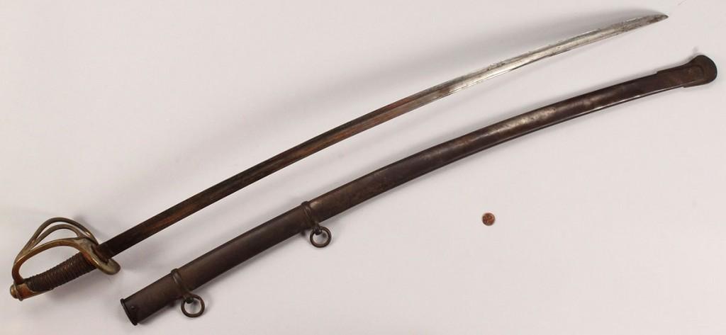 Lot 61: U.S. Civil War Model 1860 Sword