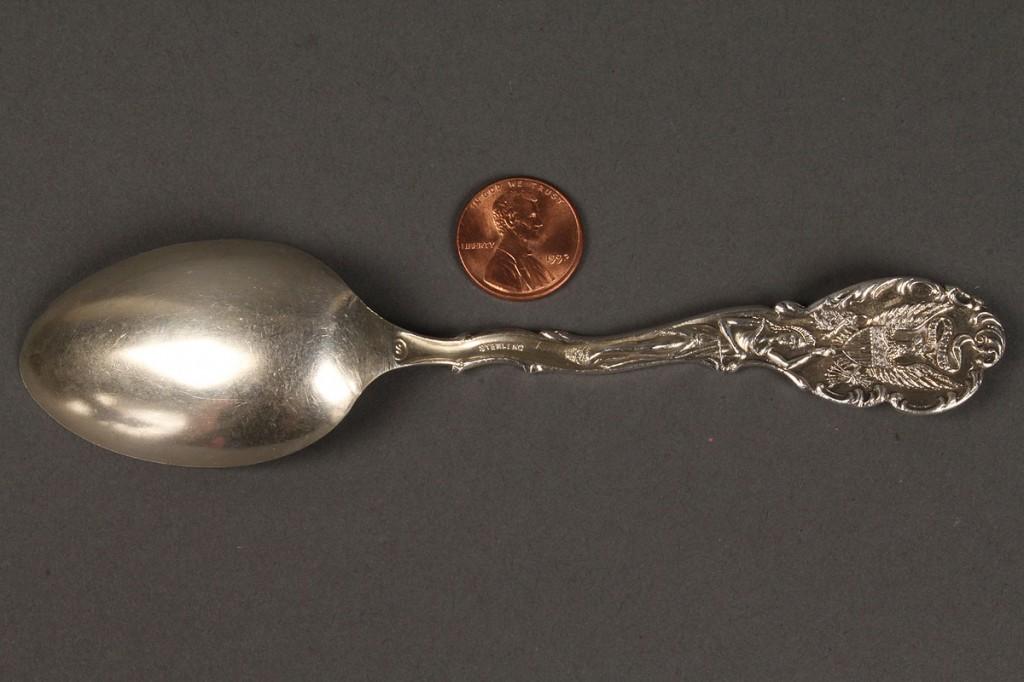 Lot 626: Black Americana Sterling Souvenir Spoon