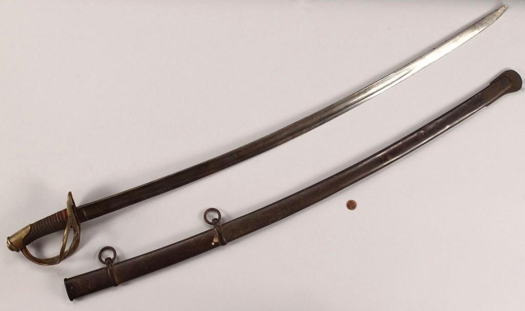 Lot 62: Civil War Cavalry Luneschloss Sword