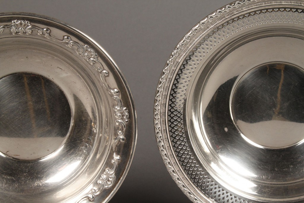 Lot 637A: Lot of 4 Sterling Table Items
