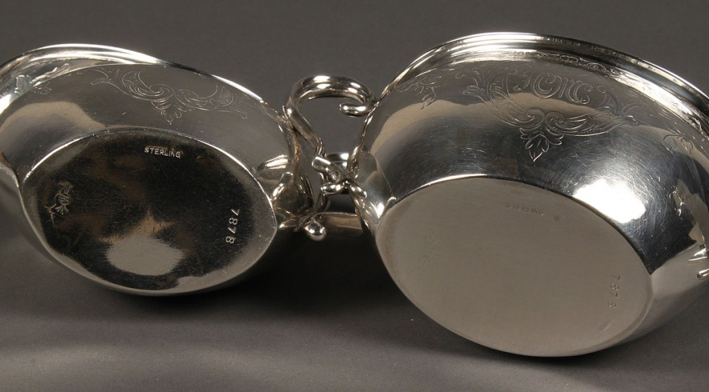 Lot 637: Lot of 3 Sterling Table Items