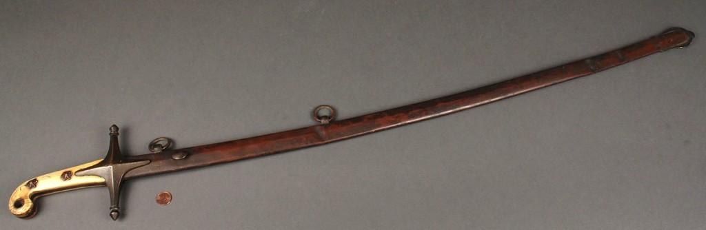 Lot 63:  Mamaluke Pattern U.S. Marine Sword