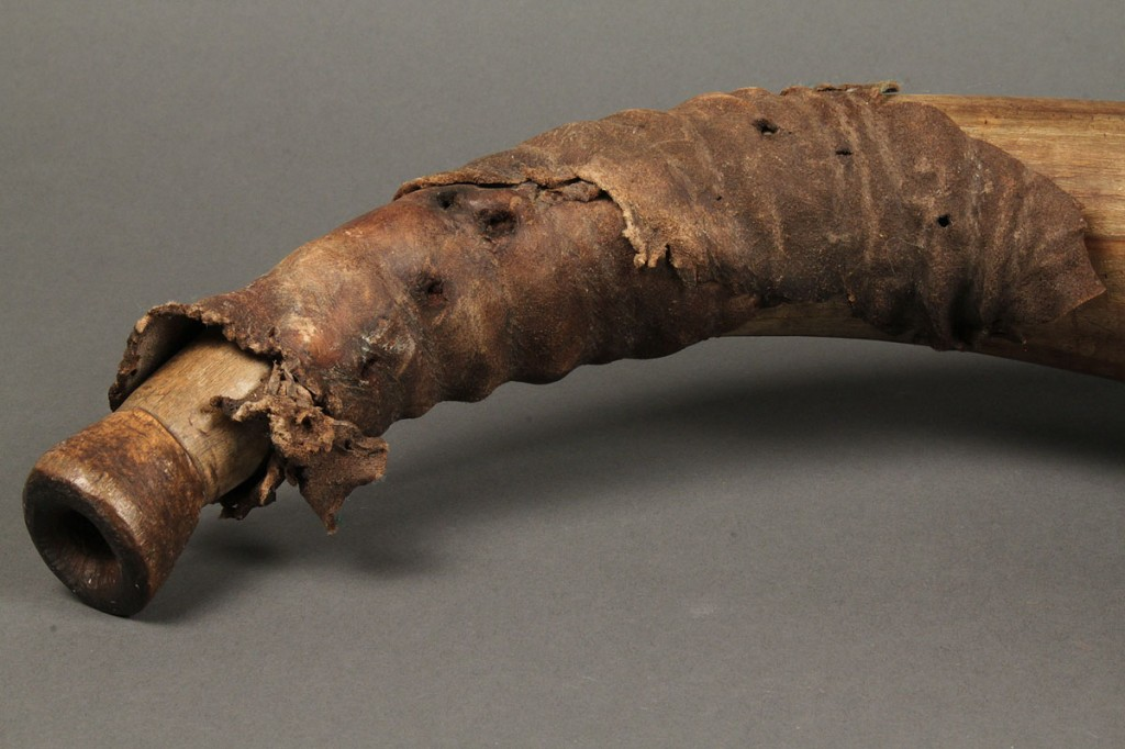 Lot 64: 18th Century Southern Powder Horn