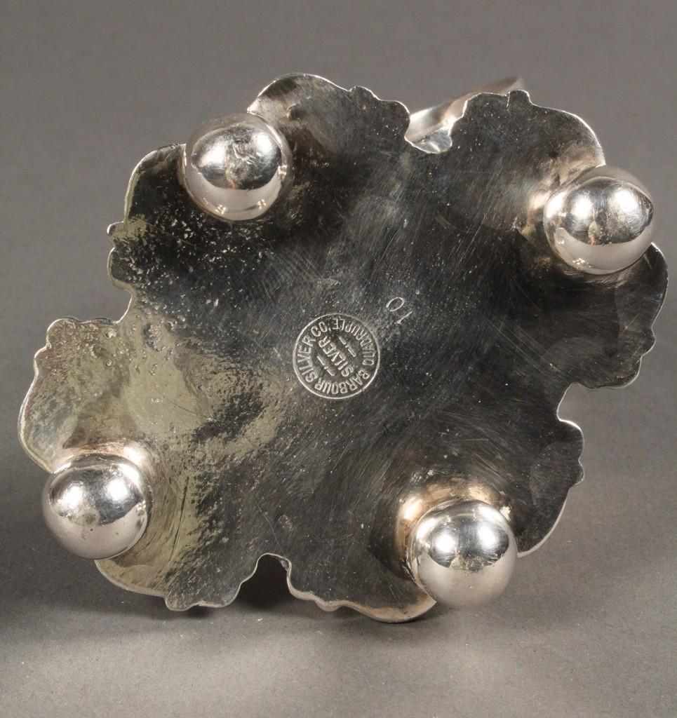 Lot 650: Victorian Silver Plated Cherub Figural Napkin Ring