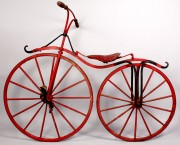 Lot 674: Early Boneshaker Bicycle