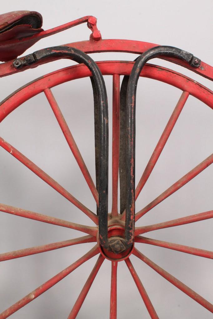 Lot 674: Early Boneshaker Bicycle