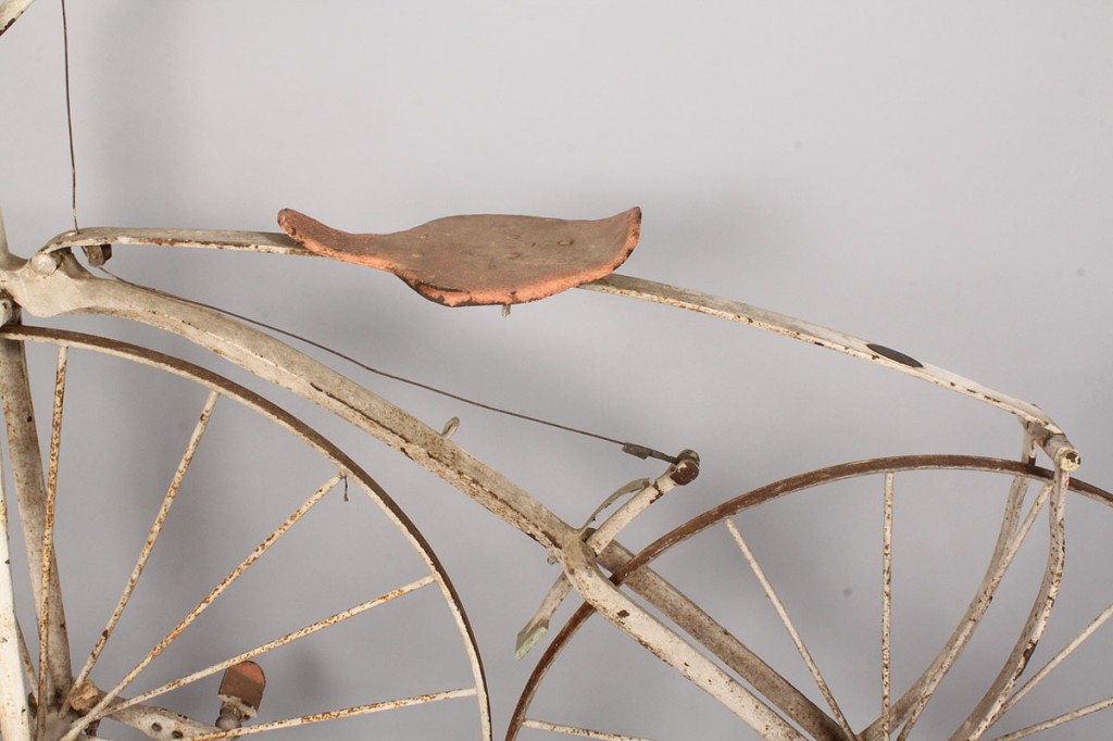 Lot 675: Early Boneshaker Bicycle, A. Dubois