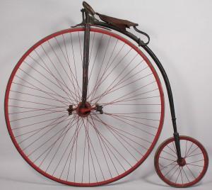 Lot 676: High Wheeler Bicycle, Eagle Bicycle Mfg Co., 1883