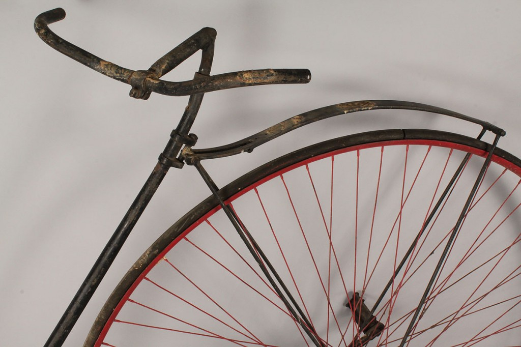 Lot 678: High Wheeler Bicycle, possibly Columbia by Pope