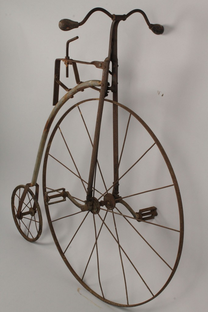 Lot 679: Lot of 2 Early Children's Bicycles