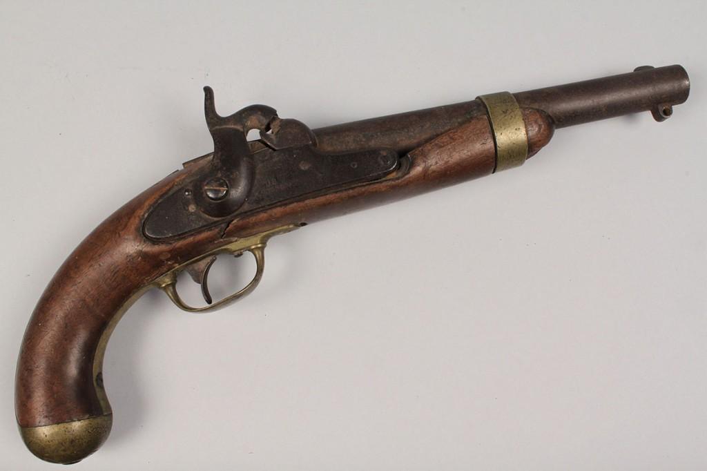 Lot 67: U.S. Model 1842 H. Aston Pistol
