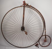 Lot 680: High Wheeler Bicycle, circa 1875
