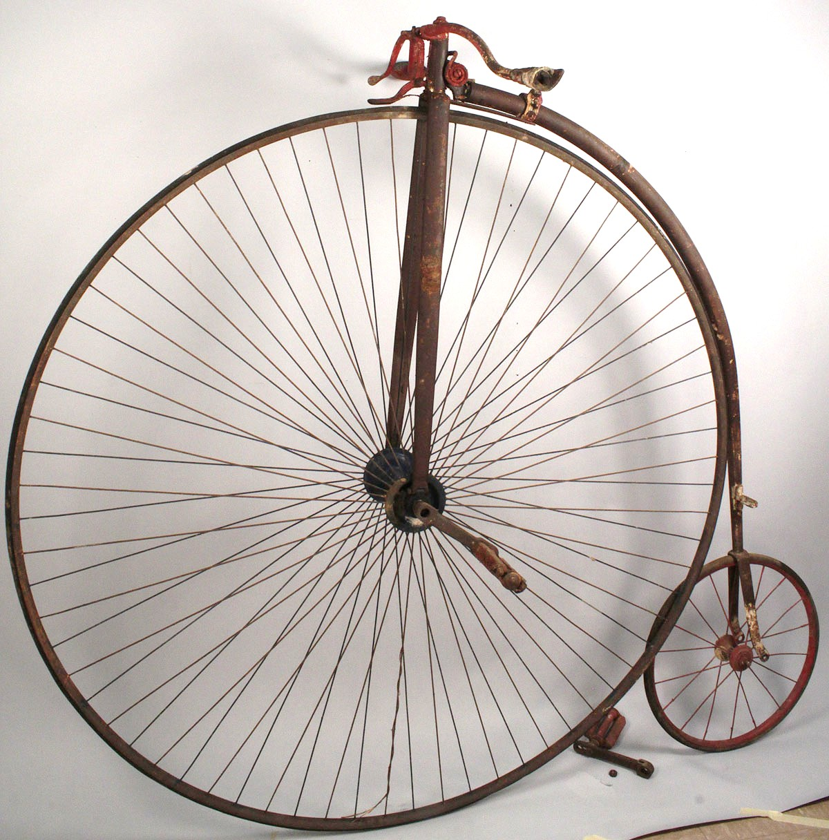 Lot 680 High Wheeler Bicycle Circa 1875