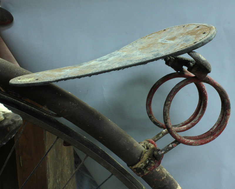 Lot 680: High Wheeler Bicycle, circa 1875