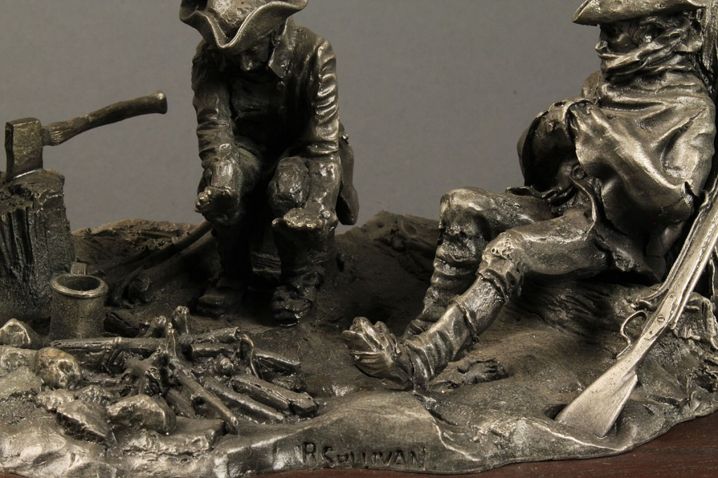 Lot 698: Limited Edition Wallace Pewter Sculpture