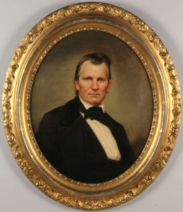 Lot 72: Portrait of CSA Gen. Daniel Smith Donelson by George Dury