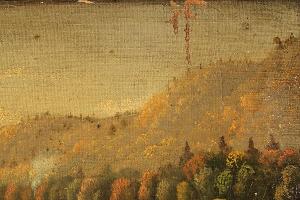 Lot 75: Tennessee Fall Landscape, attrib. J. Cameron