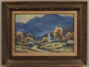 Lot 81: Eliot Candee Clark, Shenandoah Valley landscape