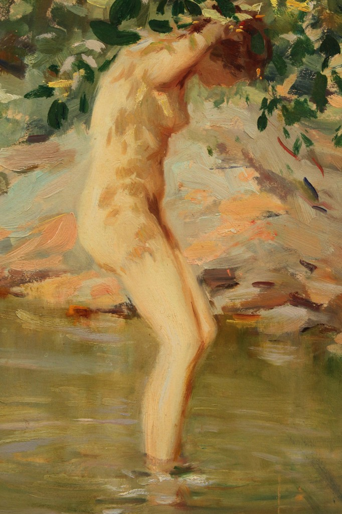 Lot 89: Lucien Henri Grandgerard Female Nude