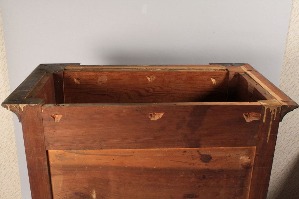 Lot 93: Miniature TN Cherry Press with Two Drawers
