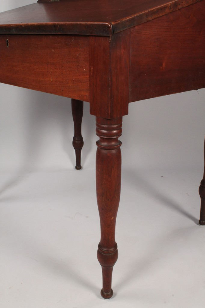 Lot 94: East TN Walnut Desk, African American history