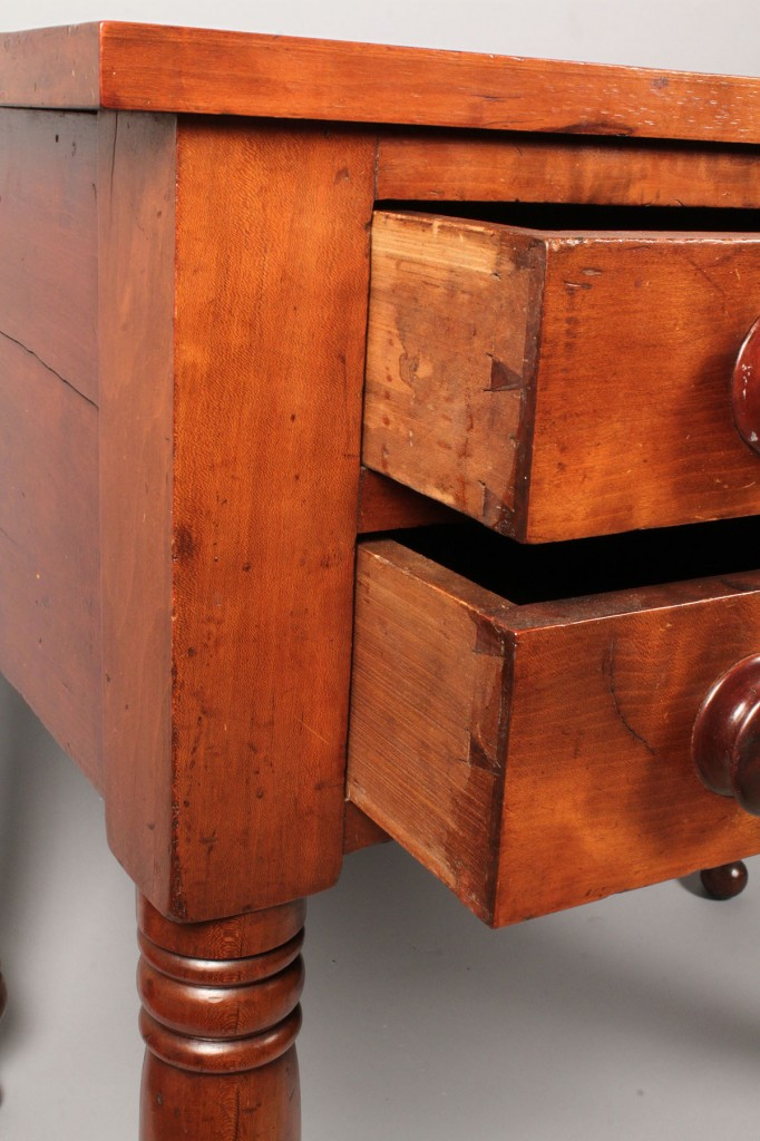Lot 96: Middle TN Cherry 2 Drawer Server