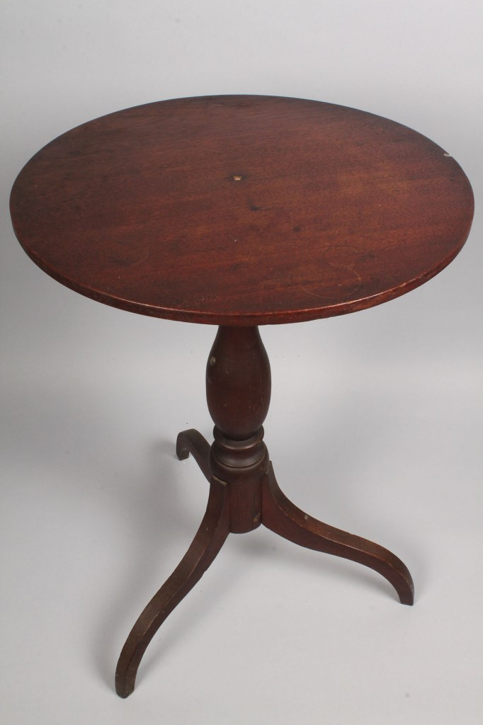 Lot 98: East Tennessee Walnut Candlestand