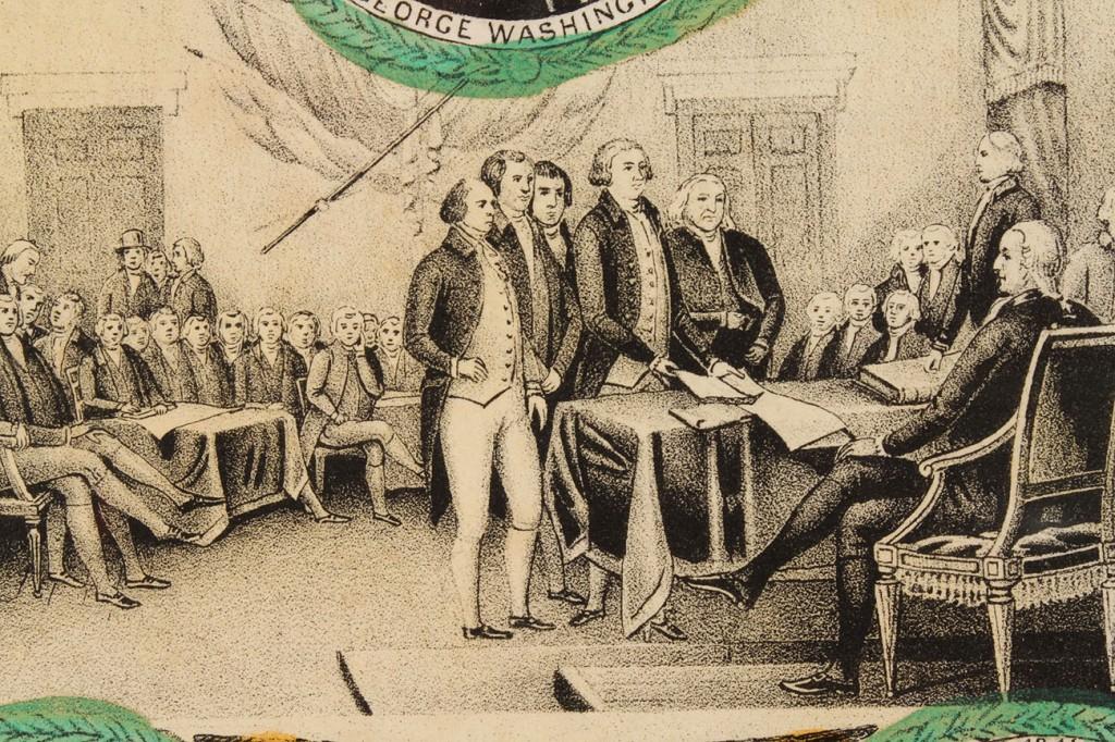 Lot 10: Presidential Lithograph, Washington to Polk