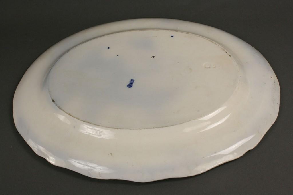 Lot 122: Turkey Platter and Plate, Doulton-Burslem