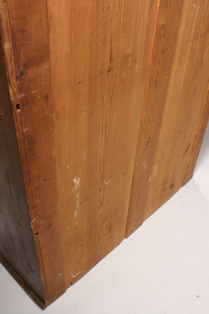 Lot 128: Southern Flatwall Cupboard, yellow pine