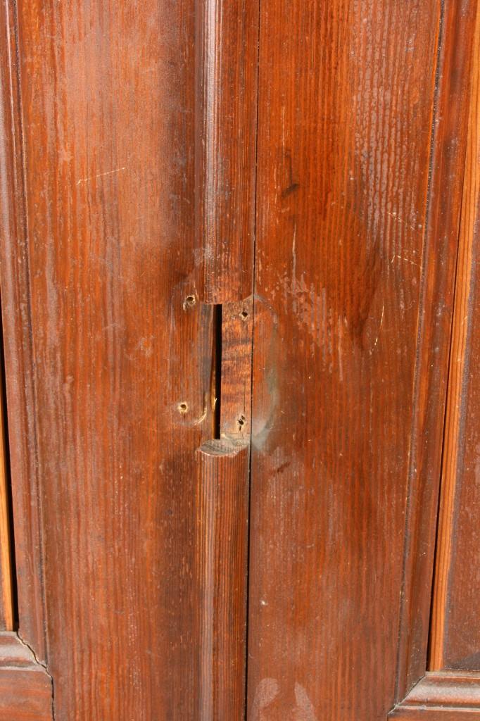 Lot 128: Southern Flatwall Cupboard, yellow pine