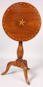 135: Southern Federal Inlaid Candle Stand