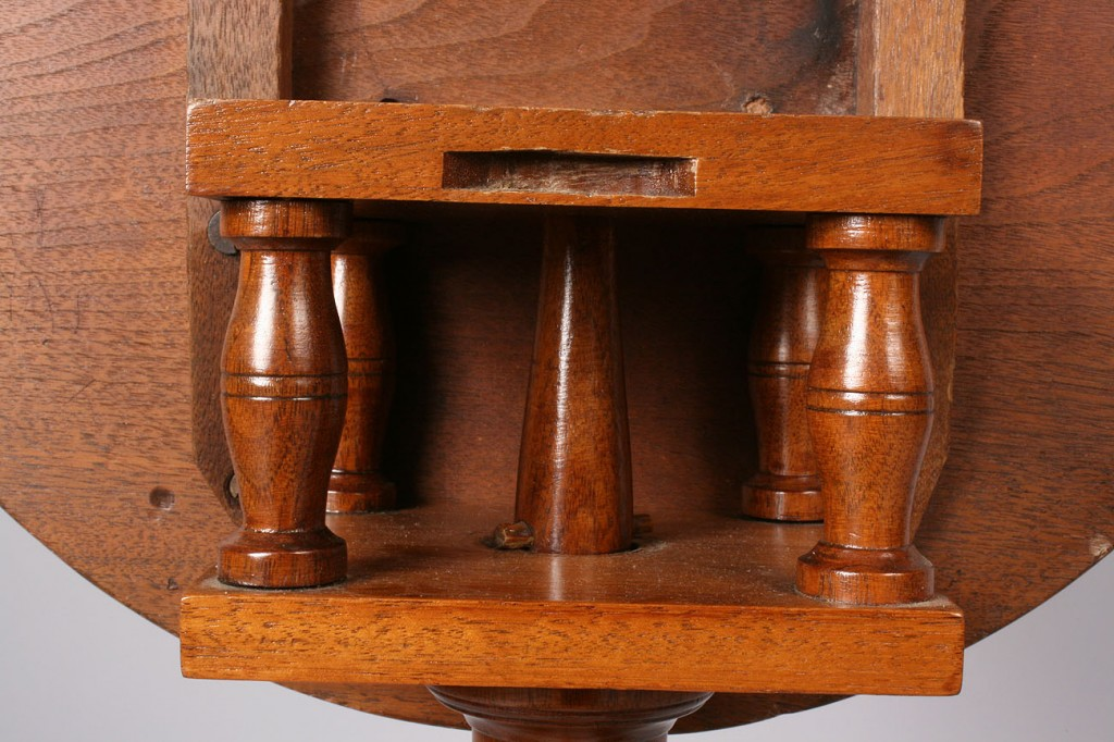 Lot 135: Southern Federal Inlaid Candle Stand
