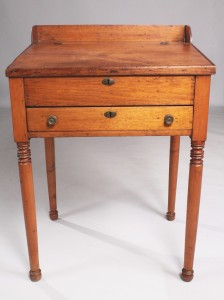 Lot 138: Walnut Schoolmaster's Desk, possibly Southern