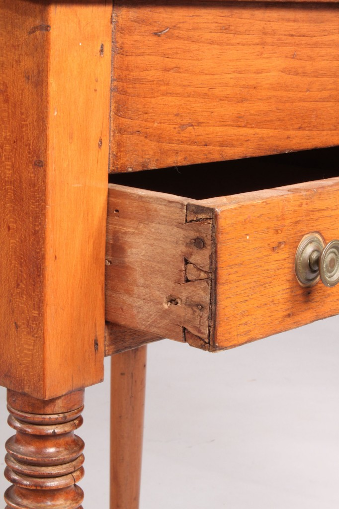 Lot 138: Walnut Schoolmaster's Desk, possibly Southern