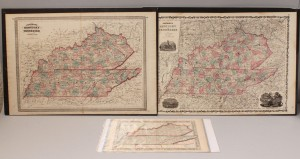 Lot 13: Lot of 3 Maps, TN and KY
