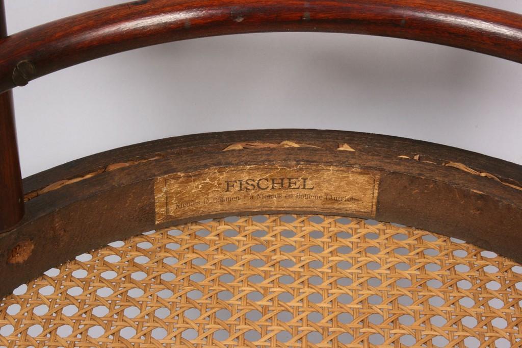 Lot 145: Fischel Bentwood chair, bar height