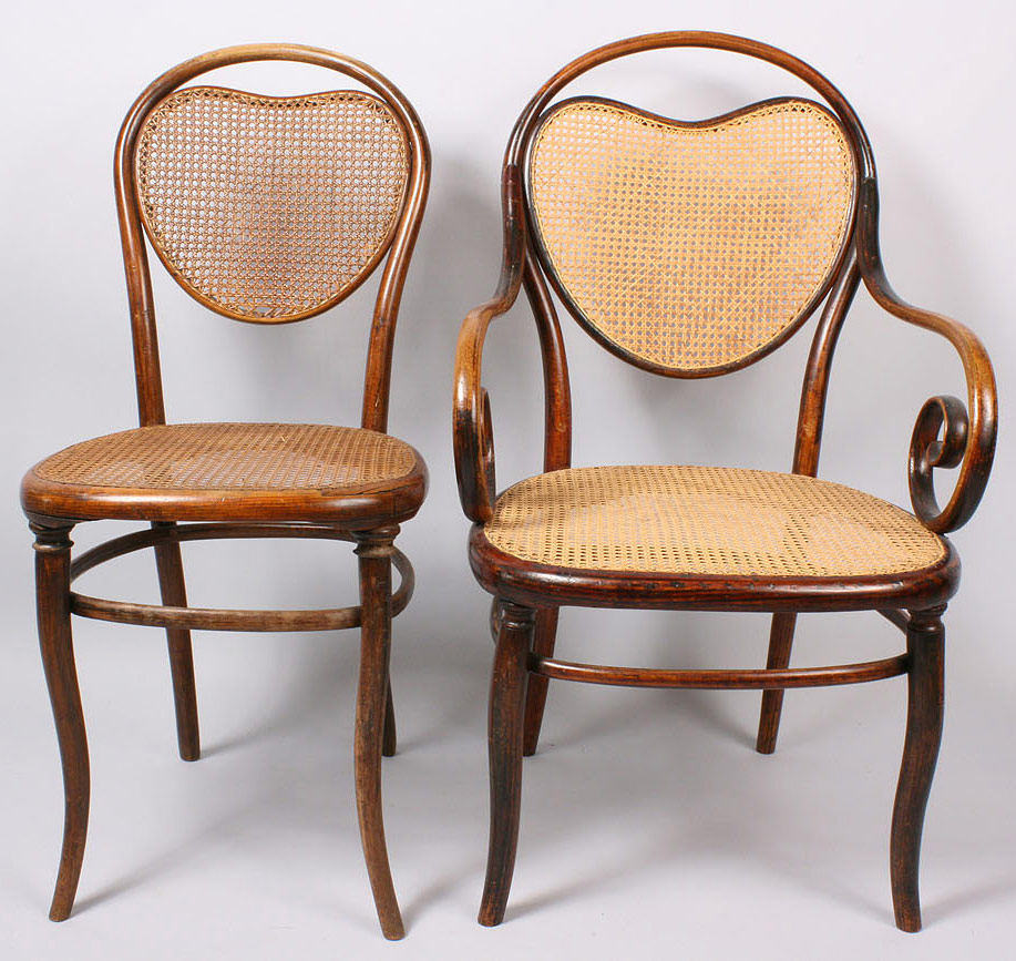 Lot 147 Thonet Bentwood Model 3 Armchair Amp Side Chair 2