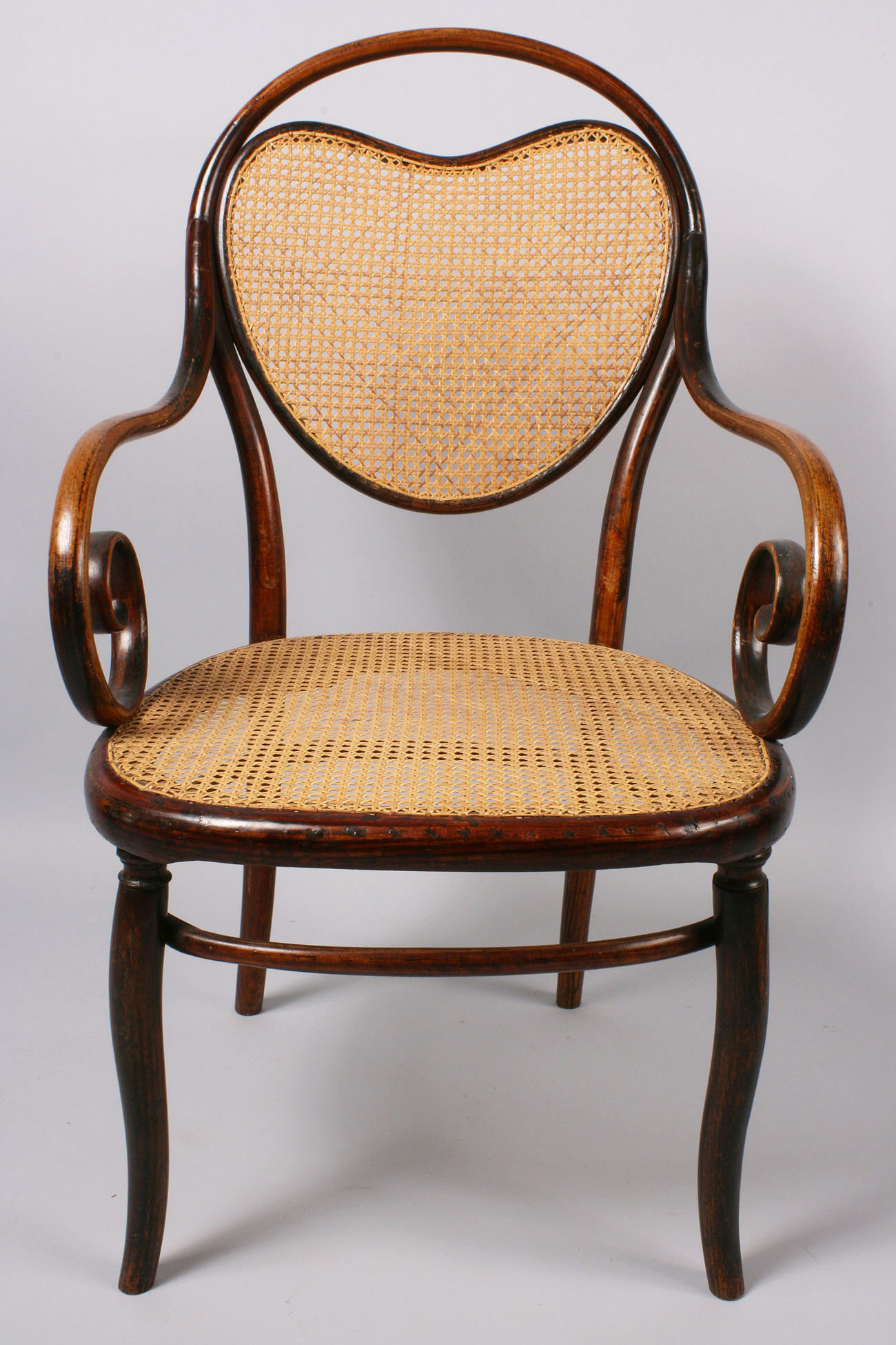 Lot 147 Thonet Bentwood Model 3 Armchair & side chair