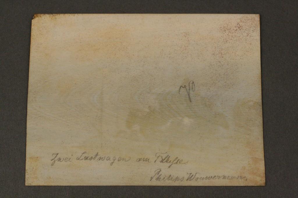 Lot 151: Continental Miniature Landscape on Ivory