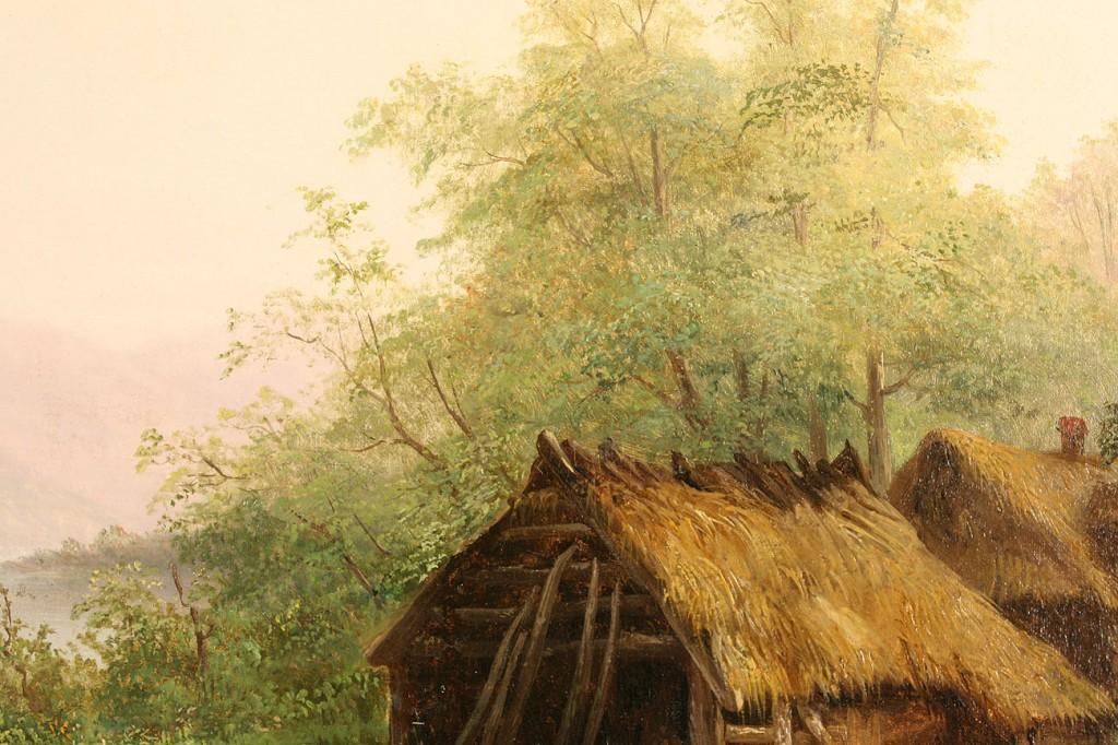Lot 153: William Frerichs Landscape, Oil on Board